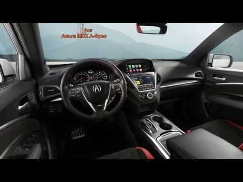 Acura MDX A Spec 2019 Luxury SUV Of All Time – Gear