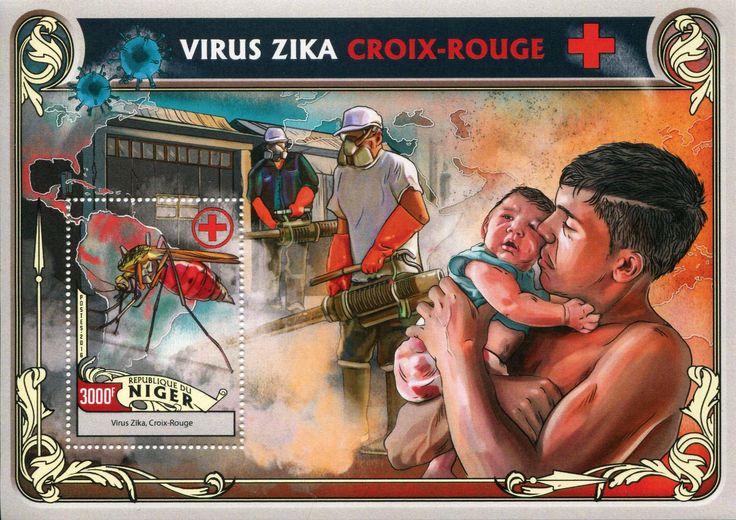 Niger 2016 Francobolli Medicina - Virus Zika - Medicine Stamps