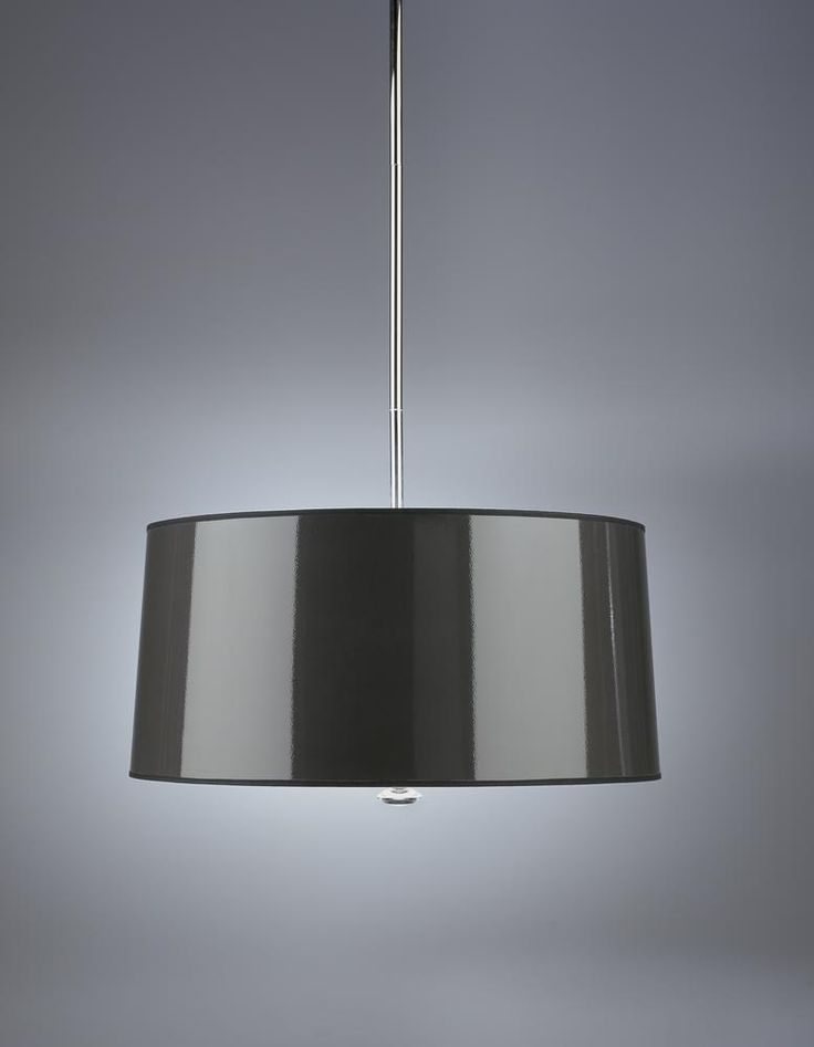 Three Light Black Drum Shade Pendant  243TJ | Gerrie Lighting Studio & 229 best Kitchen Dining Room lighting images on Pinterest | Dining ... azcodes.com