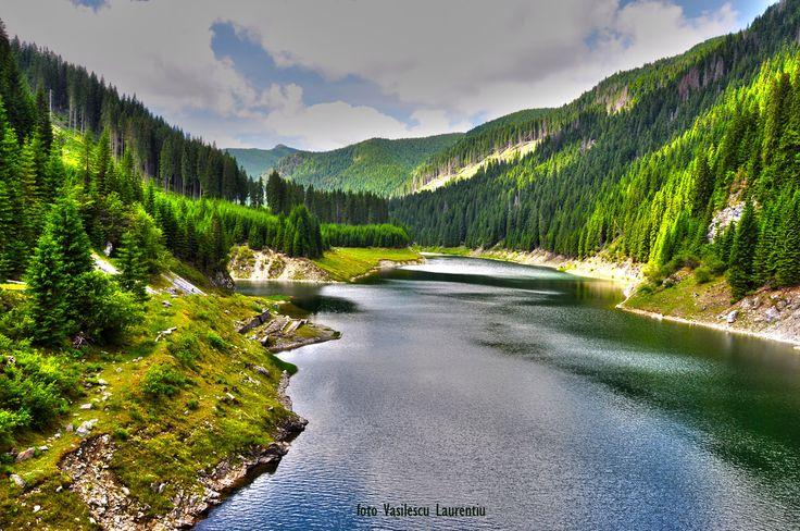 Baraj Galbenu - Muntii Lotrului
