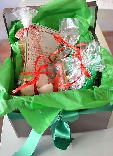 Gift boxes for Loumidis coffee!