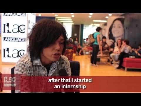 Akihiko talks about Internships at ILAC www.canadaes.com