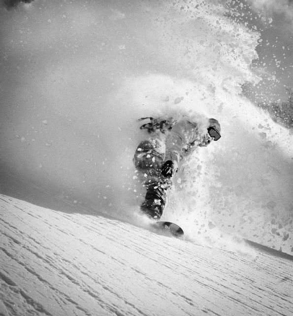 Coming up for air in some deep powder.  Wolfgang Nyvelt  #snow