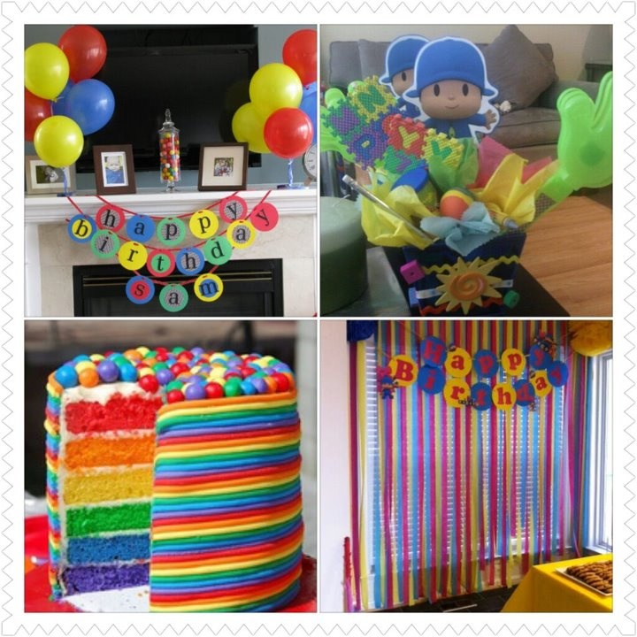 Ideas for a Pocoyo themed party