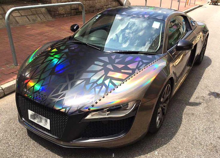 Необычные цвета машин фото