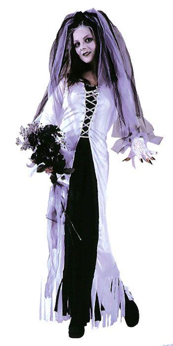 Zombie Brautkostüm für den Zombie Walk | horror-shop.com