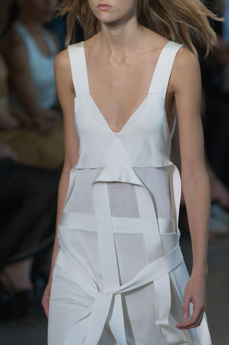 All tied up at @CalvinKlein #SS16 #NYFW