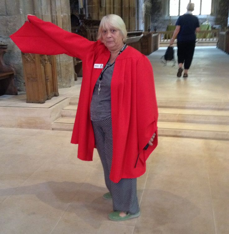mum working in the sheffield cathedral