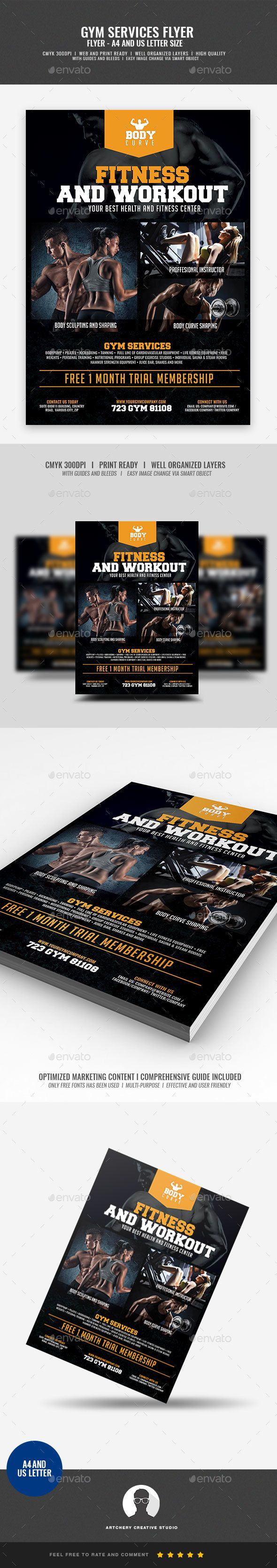 Fitness Gym Center Flyer Design Template Boost your company¡¯s sales and attract new customers! This Fitness Gym Center Flyer Design Template have been developed to boost your Ultimate Marketing strategy and brand/product awareness, Perfect for large and small