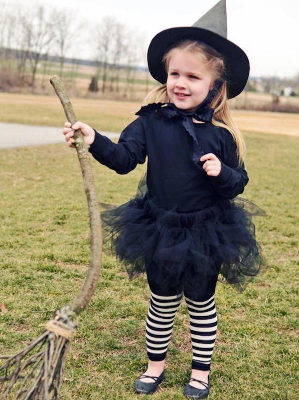 Ideas para hacer un disfraz de bruja caseros para Halloween. Disfraces fáciles para Halloween, disfraz de bruja, 9 ideas para un disfraz casero.