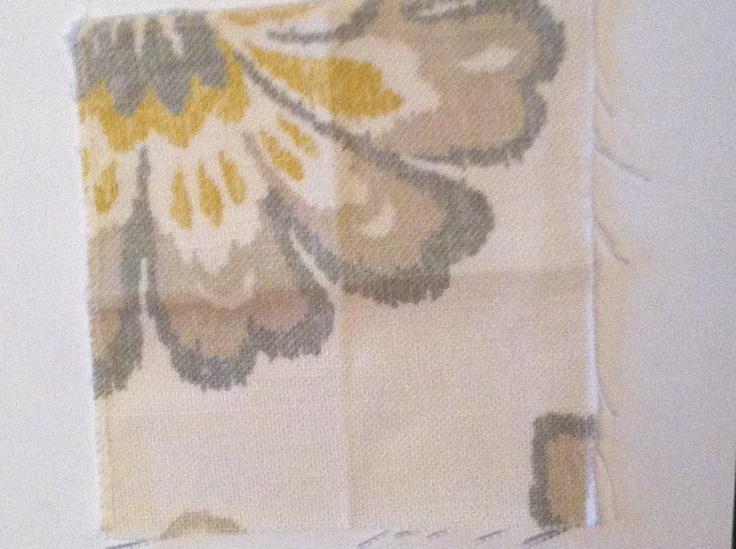 Fabric Sample Boyac - Alexa F94927 Gold Grey