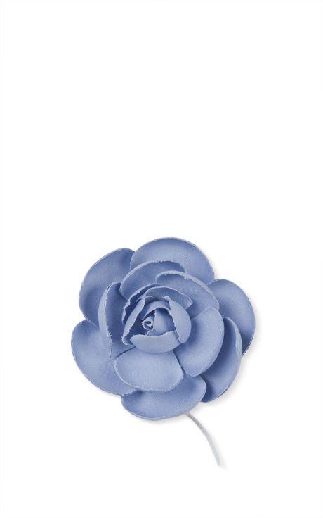 67ab3472a9e Sky Blue Rose Brooch by Esme Vie - Moda Operandi