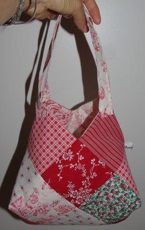 sac aux 22 carrés (de 12 cm)