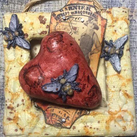 The Creative Studio / Bee My Valentine Mini Canvas