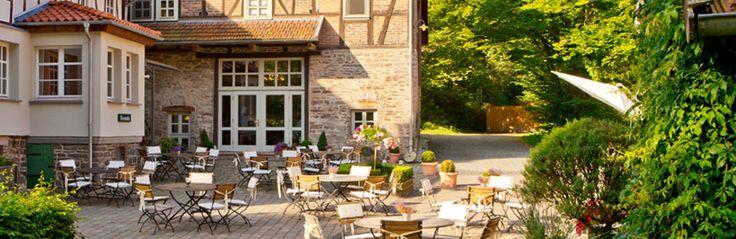 #landhaus bärenmühle #Hotel #kellerwald #schwimmteich