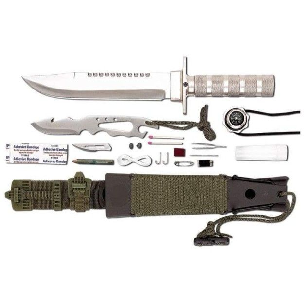 2016 Maxam Survival Knife | Father's Day Gift Ideas - Add The Best Hunting Knives Of 2016 To Your Dad's Arsenal