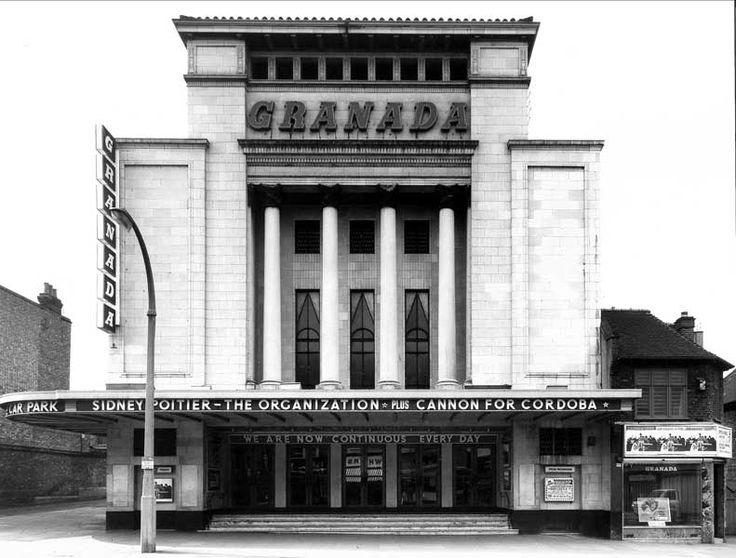 The Granada Cinema, Tooting, London. Photo taken in 1972. Now a Bingo hall.