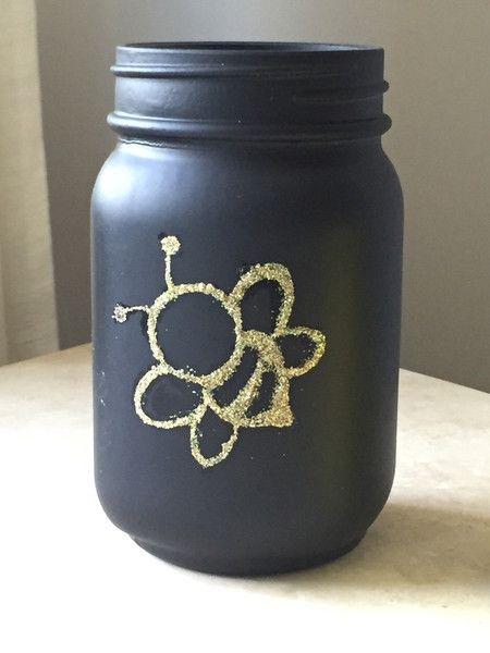 Bumble Bee Mason Jars