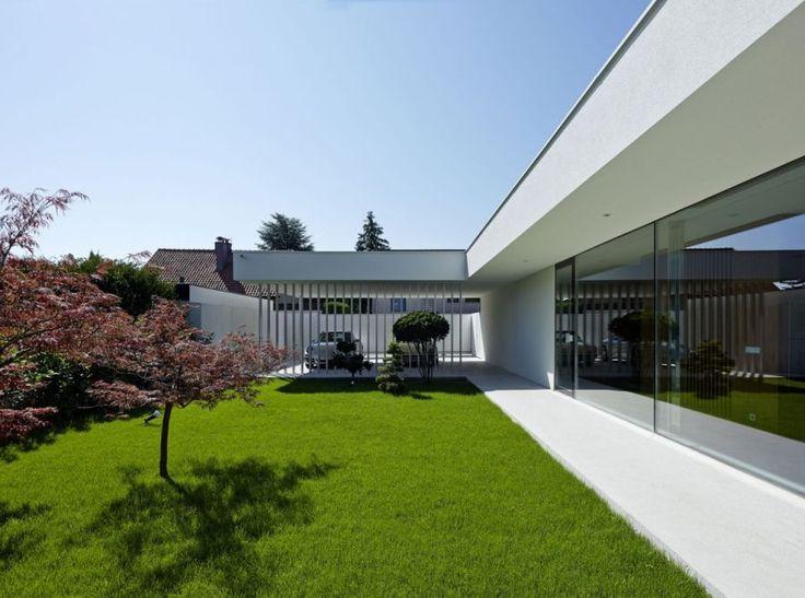 Define modern style house