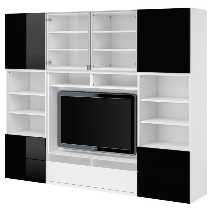 die besten 25 tv kombination ideen auf pinterest tv m bel kombination tv i m bel und ikea. Black Bedroom Furniture Sets. Home Design Ideas