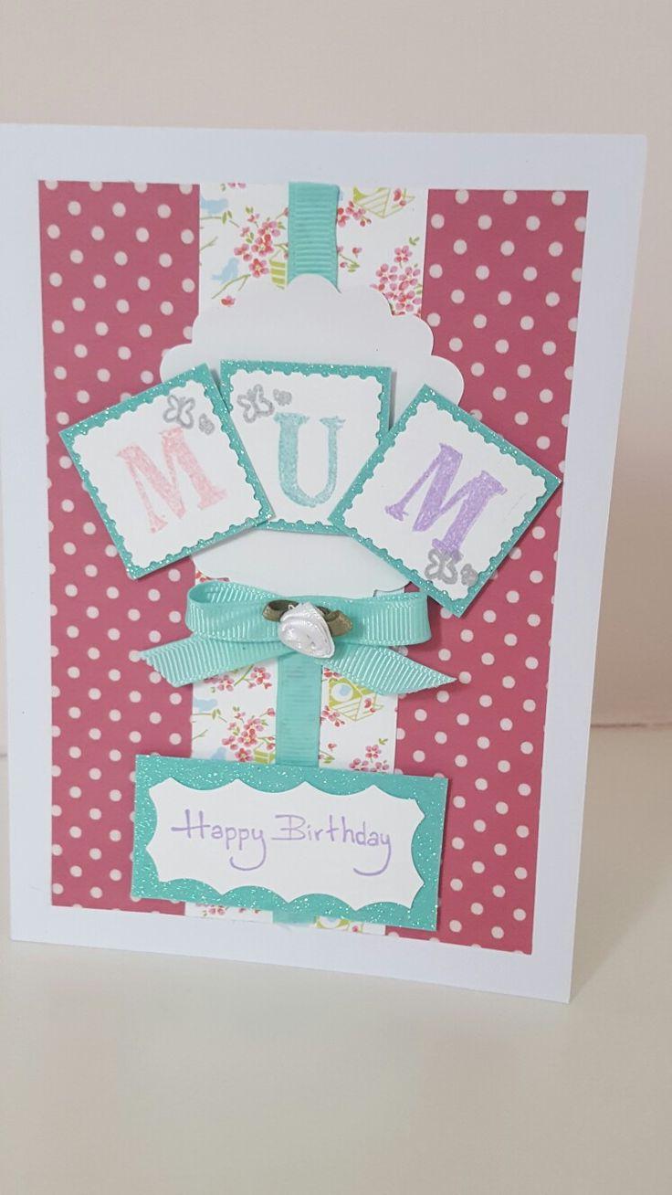Cute birthday card for my mum