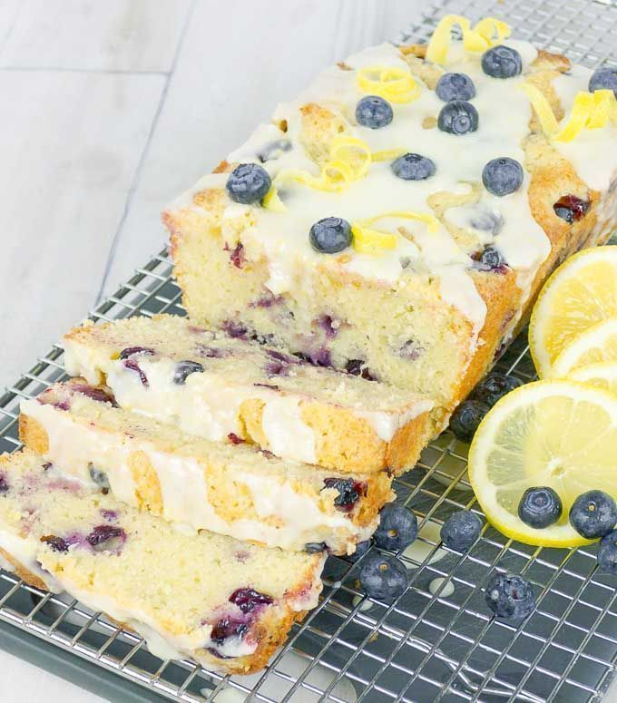 Blueberry Lemon Sour Cream Pound Cake Recipe In 2020 Sour Cream Pound Cake Lemon Blueberry Sour Cream Blueberry Muffins