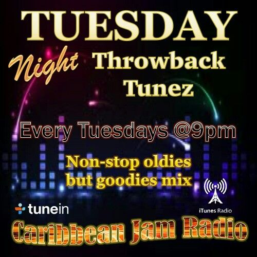 Tuesday Night Throwback Tune - Every Tuesdays at 9pm on CJR.