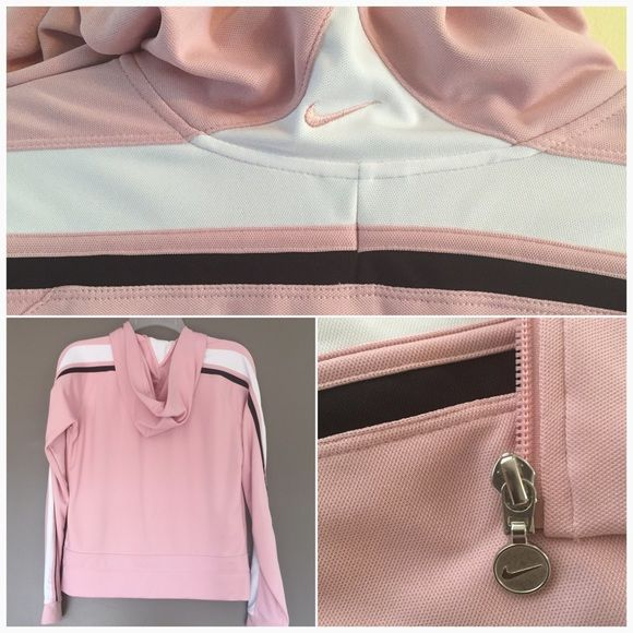 ✂️✂️ Retro Throw back NIKE Zip Hoodie Like New ✂️ ✂️✂️PRICE CUTE FINAL✂️✂️ Like Retro throwback NIKE Zip Hoodie Size Medium 8-10. ⏱⏱ Super cute one of a kind great 50's powder pink color. Silver Hardware,sturdy front zip. ✂️✂️ FINAL PRICE 🛍Ships same or next day 🛍❤LOVE bundles ❤ Nike Jackets & Coats