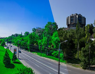 """Check out new work on my @Behance portfolio: """"Processing panorama of the Dnieper River"""" http://on.be.net/1G6NpQ9"""