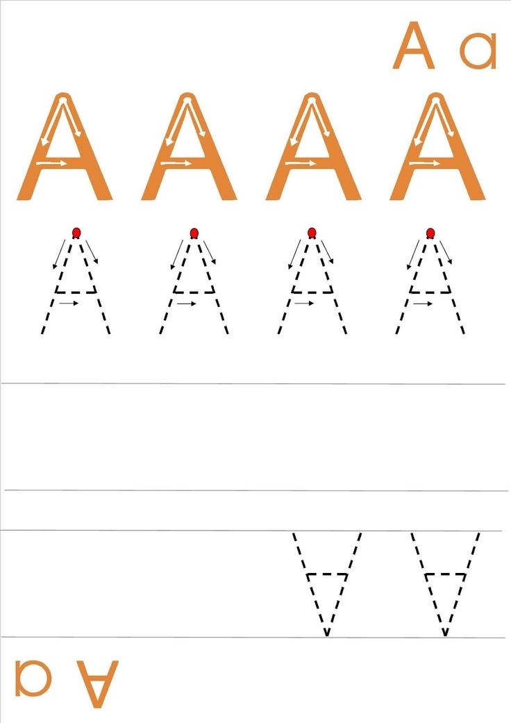 La classe de Laurène: fiches écriture majuscules / capitales
