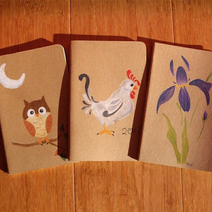 Stay organized in style and save 15% on all hand painted notebooks. Use code NOTES during checkout. Happy New Year!