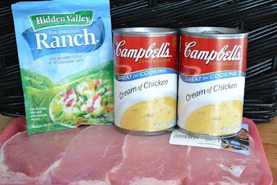 Ranch House Crock Pot Pork Chops - Life In The Lofthouse