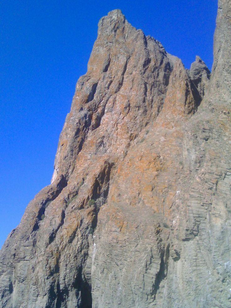 Republic of Crimea. Mount Karadag. Reserve