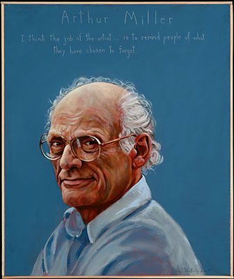 """""""I think the job of the artist...is to remind people os what they have chosen to forget."""" ~ Arthur Miller    [click on this image to see how one artist uses performance poetry to remind people about what they choose to forget]: Accidental Activist, Portraits Gr, Positive Change, Creative Writing, Political Droppings Things, Artist, Arthur Miller, Author 1915 2005"""