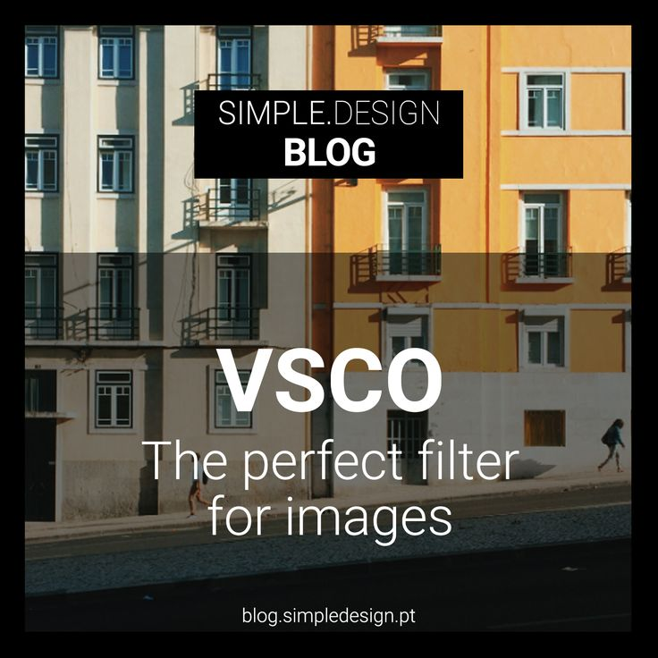VSCO is my favorite application when it comes to choosing a filter for an image that i want to publish. But why the VSCO? #vsco #vscocam #blog #designtips #design