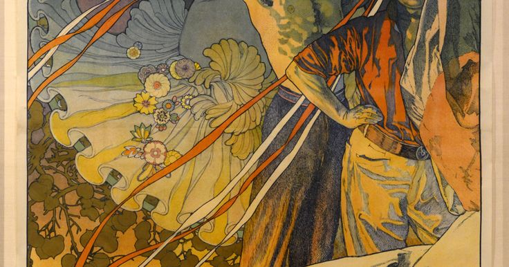 """""""Mucha: Master Artist of Art Nouveau"""" is on display at the Pensacola Museum of Art."""