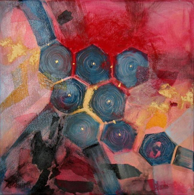 Plus de 1000 id es propos de mon art my art sur pinterest for Peinture geometrique contemporaine