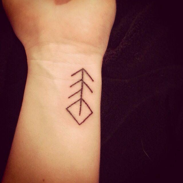 Les 25 meilleures id es de la cat gorie symboles vikings et significations sur pinterest - Tatouage rune viking ...