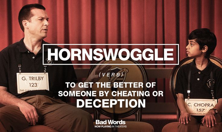 Bad Words movie hornswoggle