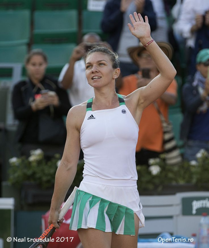 Simona Through the second round RG ❤️❤️