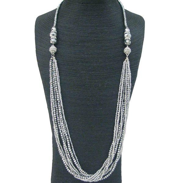 SILVER CRYSTAL #CINDERELLA #NECKLACE JKN224SI #jacquelinekent #ksajewelry #jacquelinekentjewelry