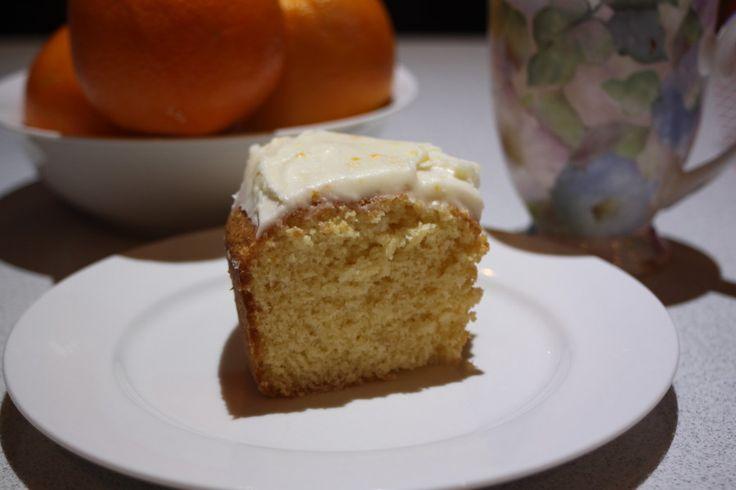 Easy Orange Cake (or Lemon Cake)