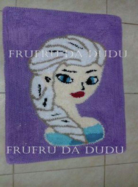 Tapete  Frufru da Elsa