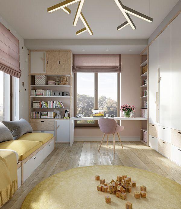 House in Moscow on Behance – Cezarina Mandarina