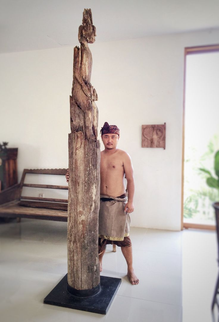 Dayak tribe | Bali Tribe | Large Hampatong Borneo island | Indonesian Primitive Tribal Art | Komangary indonesian art gallery