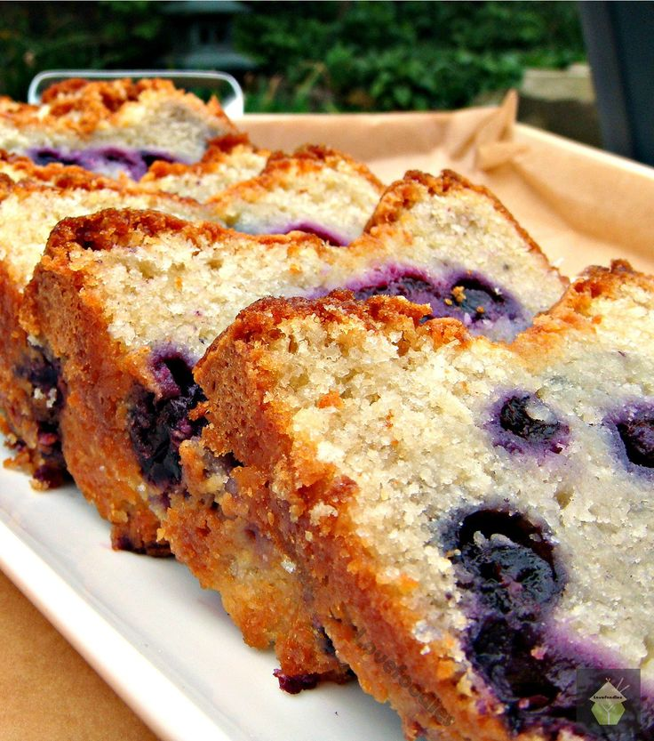 Moist Blueberry Lemon Pound Cake. if you've ever tried our Lovefoodies Pound Cake recipes you'll certainly be adding this to your collection!