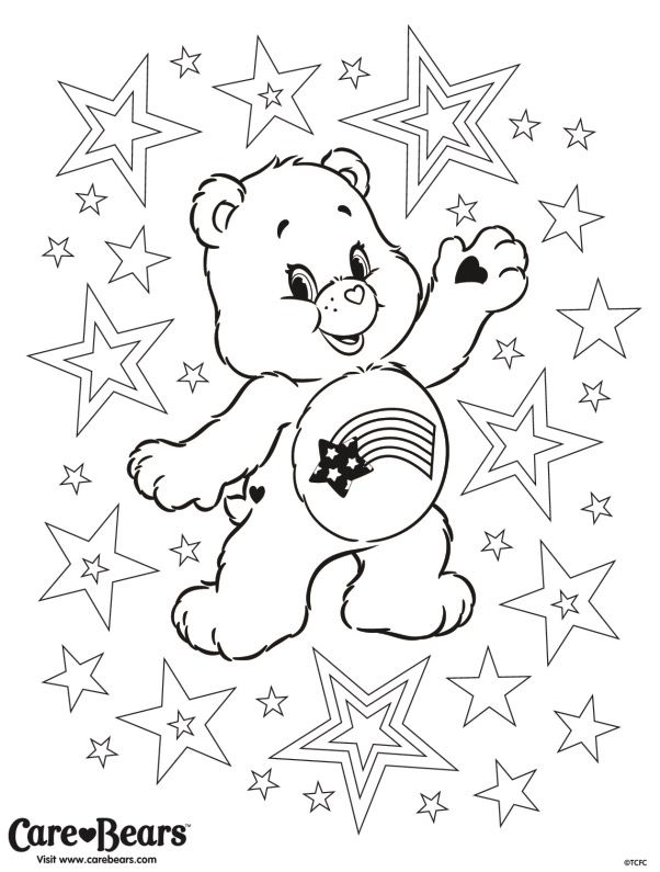 Care Bears Easter Crafts Coloring Pages Operation Christmas Child Relax Colouring Printable Keep Calm Books