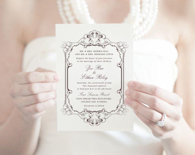 Baroque Wedding Invitations: Best 25+ Baroque Wedding Ideas On Pinterest
