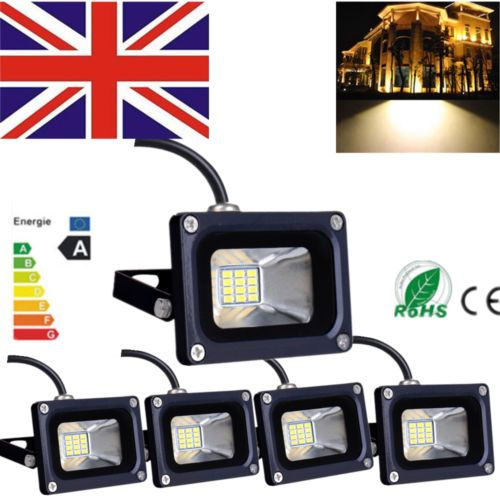 #5x10w warm #white led smd #security outdoor garden landscape flood light 12v,  View more on the LINK: 	http://www.zeppy.io/product/gb/2/191792635777/