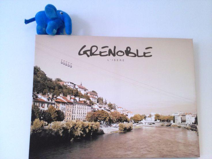 De passage à Grenoble avant ses vacances au bord de la mer ! ;-) #elePHPant #PHP